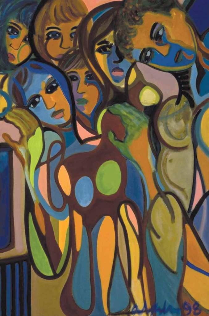 Blue Light, 1998, oil on canvas