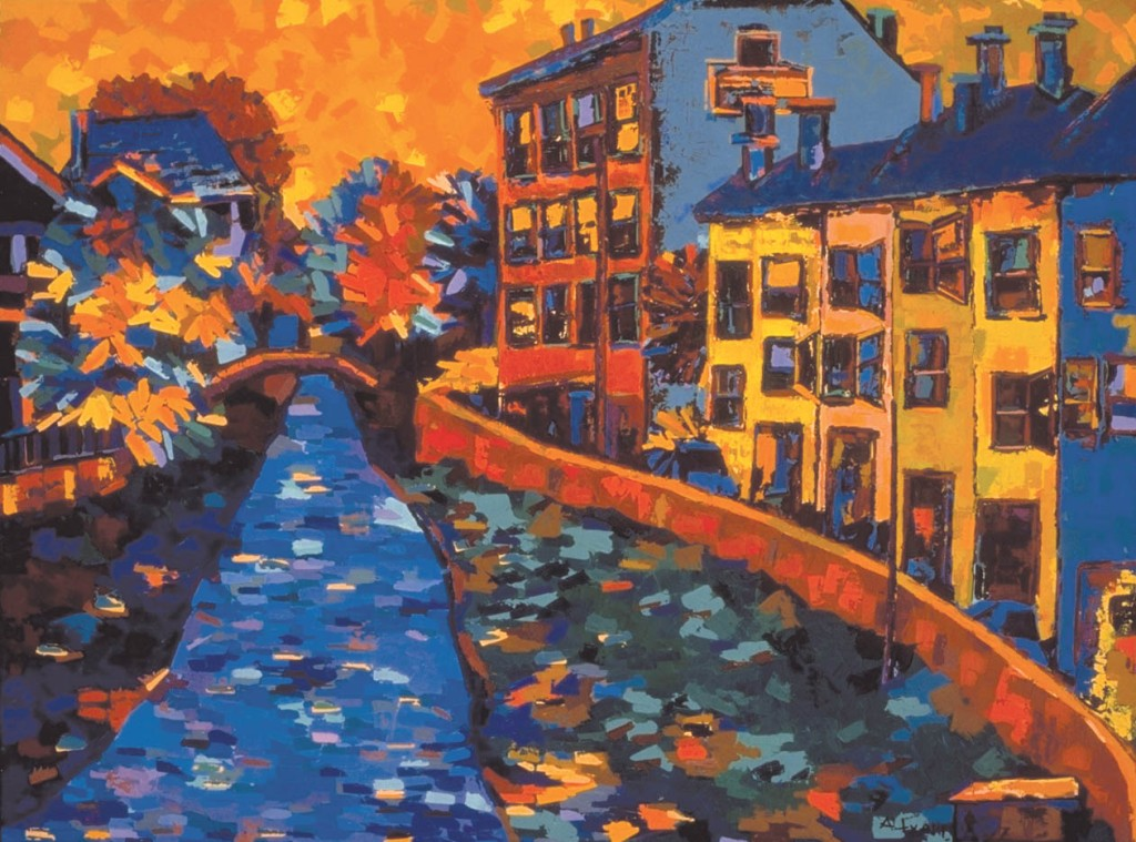 Landscape 5, 1997, oil on canvas